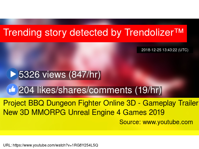 Project BBQ Dungeon Fighter Online 3D - Gameplay Trailer New