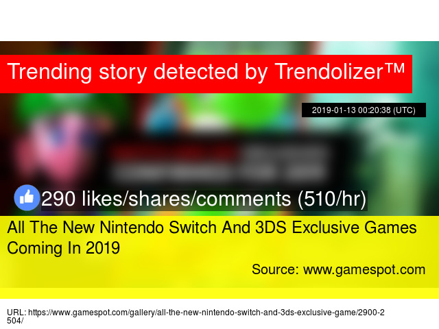 All The New Nintendo Switch And 3DS Exclusive Games Coming