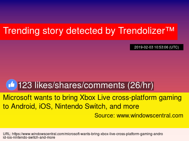 Microsoft wants to bring Xbox Live cross-platform gaming to Android