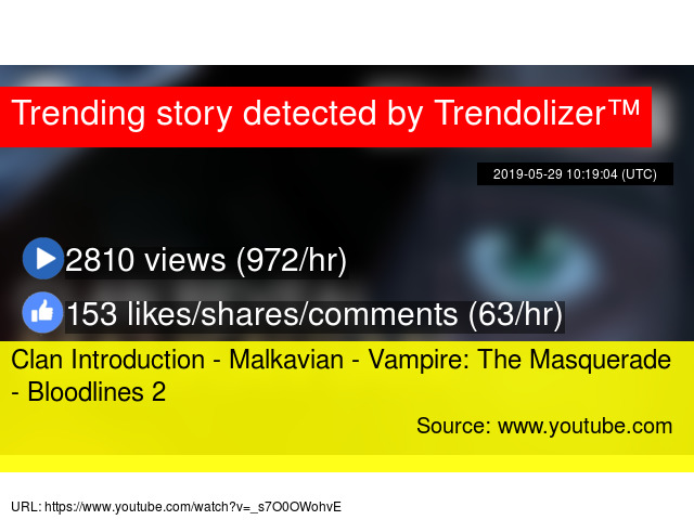 Clan Introduction - Malkavian - Vampire: The Masquerade - Bloodlines 2