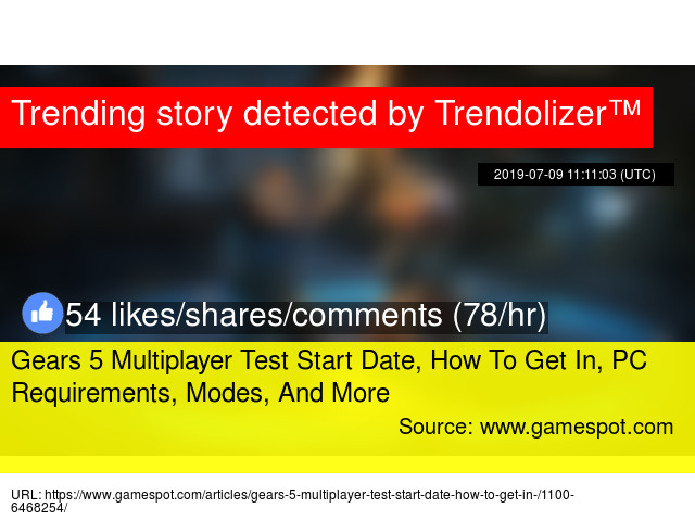 Gears 5 Multiplayer Test Start Date, How To Get In, PC