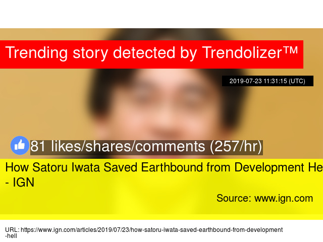 How Satoru Iwata Saved Earthbound from Development Hell - IGN