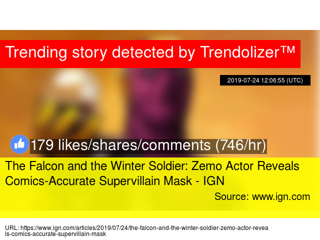 The Falcon and the Winter Soldier: Zemo Actor Reveals Comics