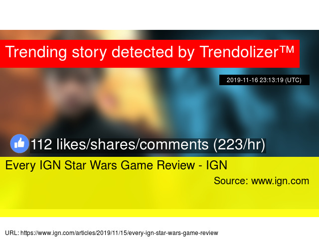 Every Ign Star Wars Game Review Ign