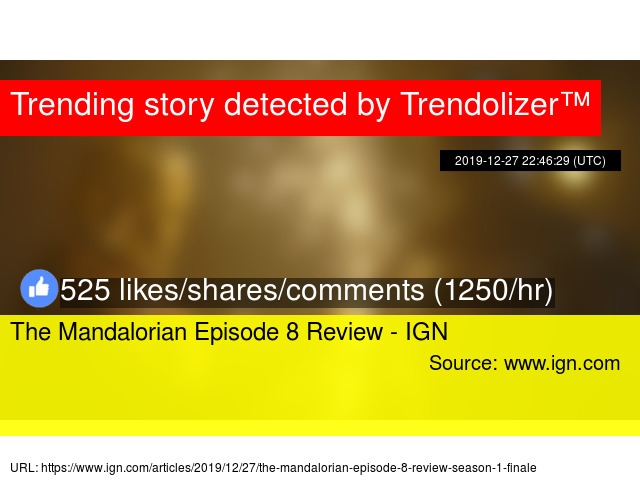 The Mandalorian Episode 8 Review Ign