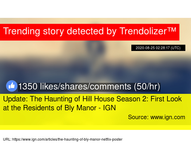 Update The Haunting Of Hill House Season 2 First Look At The Residents Of Bly Manor Ign