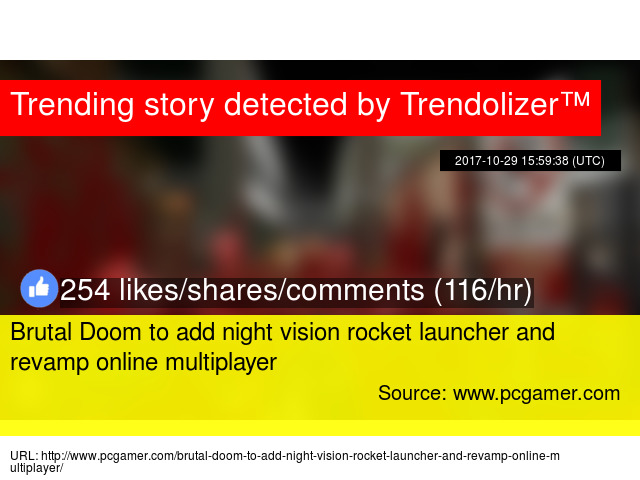 Brutal Doom to add night vision rocket launcher and revamp