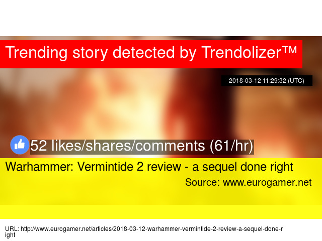 Warhammer: Vermintide 2 review - a sequel done right