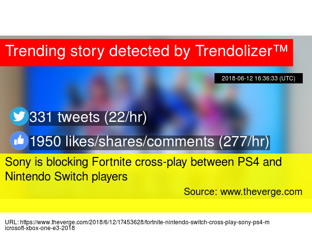 Sony Is Blocking Fortnite Cross Play Between Ps4 And