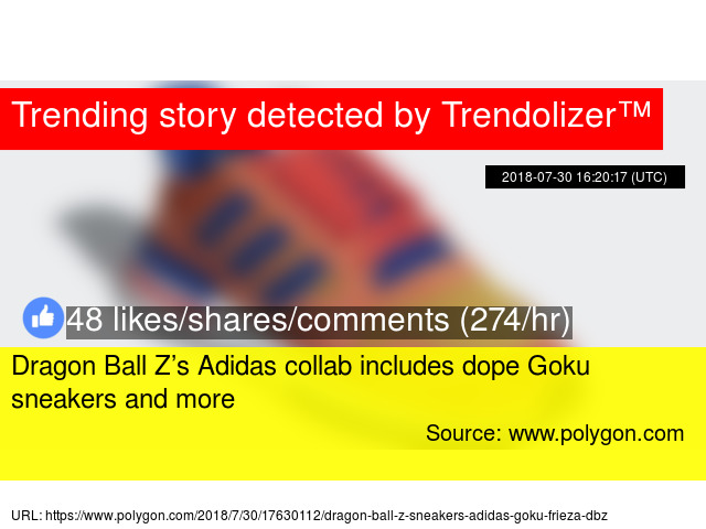 Dragon Ball Z s Adidas collab includes dope Goku sneakers and more 889e33aed