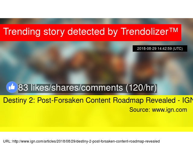 875e36ead26 Destiny 2  Post-Forsaken Content Roadmap Revealed - IGN